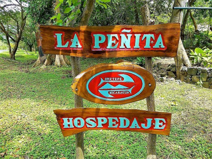 Hospedaje La Penita , hostel sign